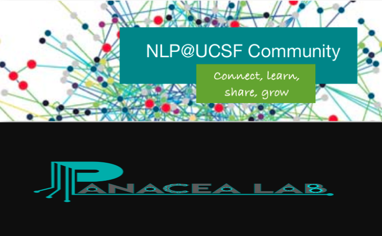 Image of UCSF NLP Community and PanaceaLab